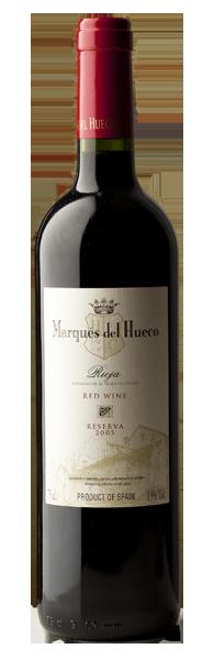 reserva - vinos - marques del hueco